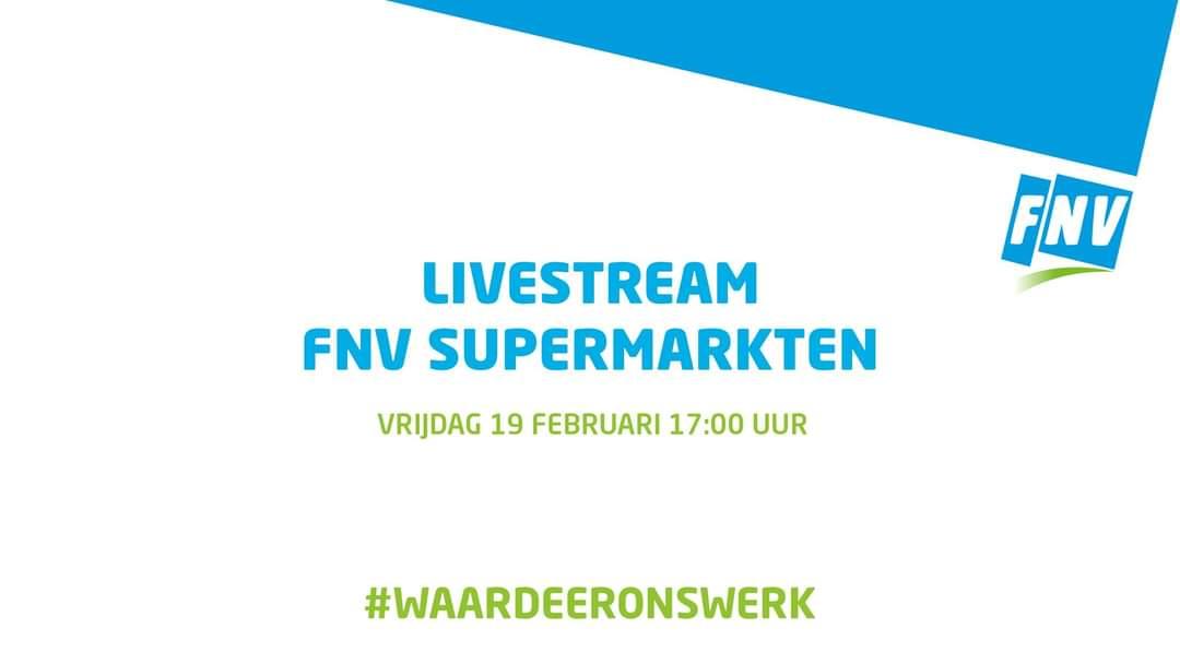 Livestream #waardeeronswerk: het Supermarkt-debat