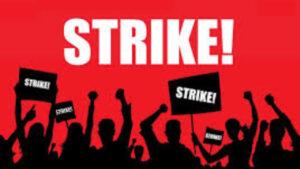 FNV kondigt stakingen aan: Wij gaan staken.